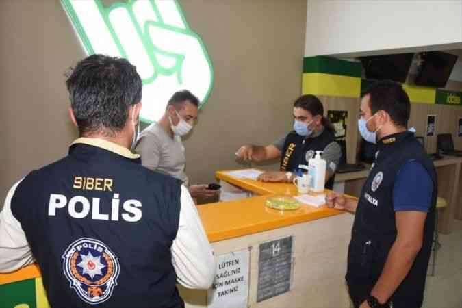 """Ülke genelinde 57 bin 107 personelin katılımıyla """"yasa dışı bahis"""" ve """"kumar"""" denetimi yapıldı"""