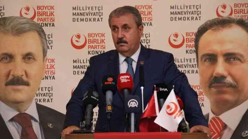 BBP Genel Başkanı Destici, Konya'da konuştu: