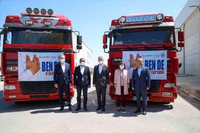 Gaziantep Büyükşehir Belediye Başkanı Şahin, maaşını afetzedelere bağışladı
