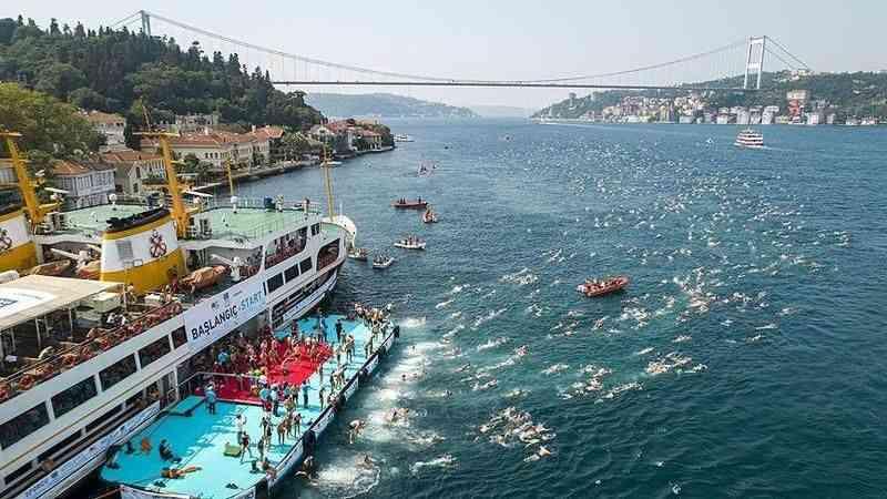 Samsung Boğaziçi Kıtalararası Yüzme Yarışı, yarın yapılacak