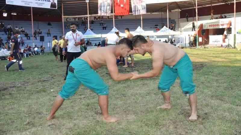 46. Geleneksel Afşin Eshab-ı Kehf Kültür ve Karakucak Gençler Türkiye Güreş Şampiyonası tamamlandı