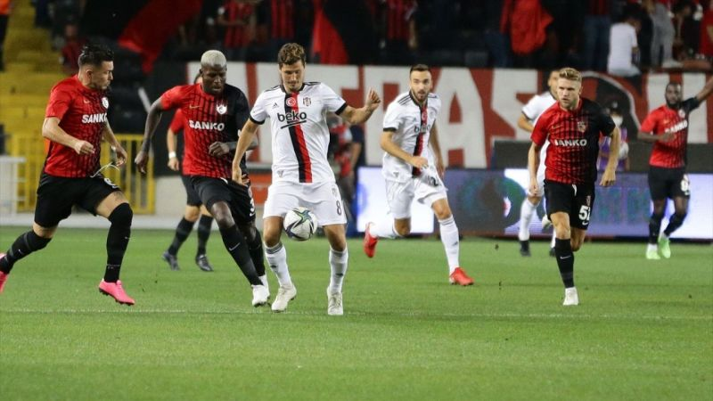 Gaziantep ile Beşiktaş 0-0 berabere kaldı