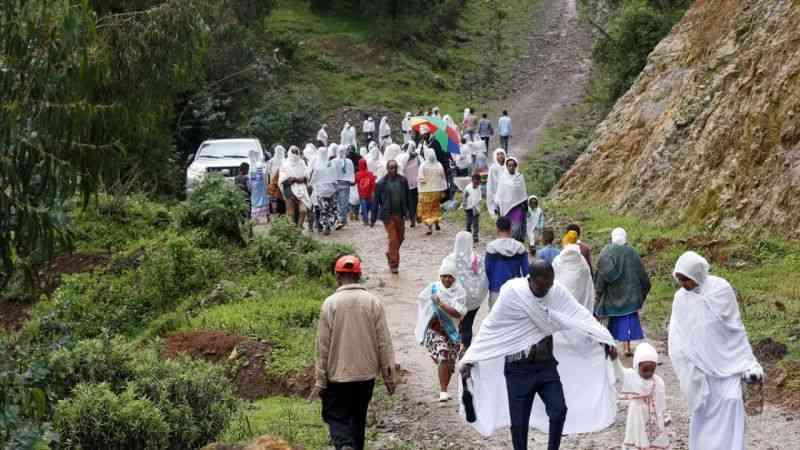 """Etiyopya'da """"Filseta Kutsal Günü"""" kutlamaları"""