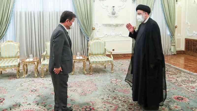 Japonya Dışişleri Bakanı Motegi, İran'da