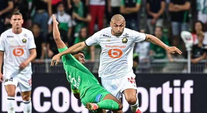 Lille, Saint-Etienne ile 1-1 berabere kaldı