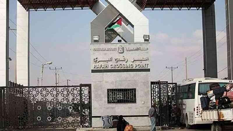 Gazze'deki İçişleri Bakanlığı: Mısır, Refah Sınır Kapısını pazartesi günü çift yönlü kapatacak