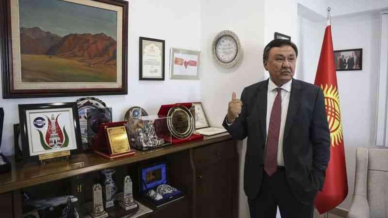 """""""30 yıl önce Kırgızistan bağımsızlığını kazandığında ilk tanıyan ülke Türkiye olmuştur''"""