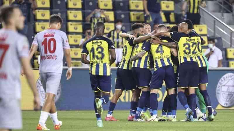 Fenerbahçe'den 2021-2022 sezonuna etkili başlangıç