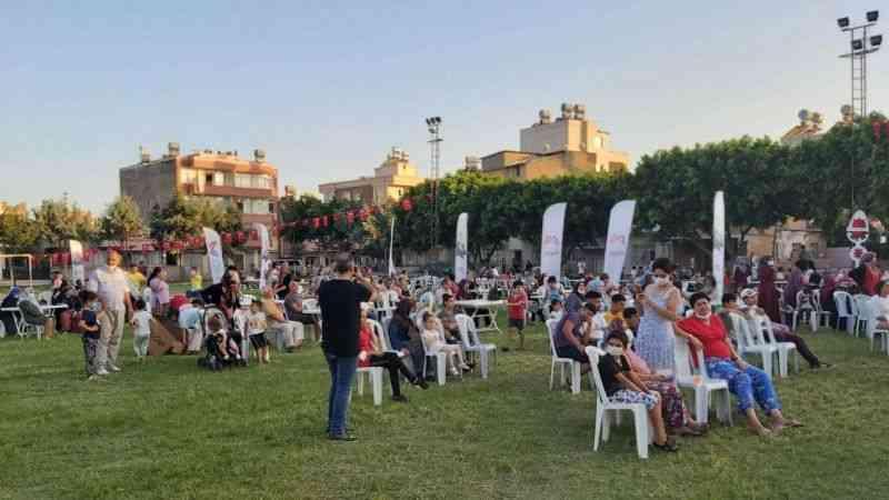 Mersin Büyükşehir vatandaşlara konser keyfi yaşattı