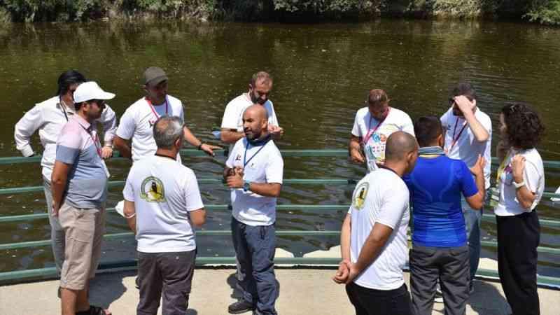 Bilecik'e yurdun dört bir yanından gelen öğretmenler doğa eğitimine katılıyor