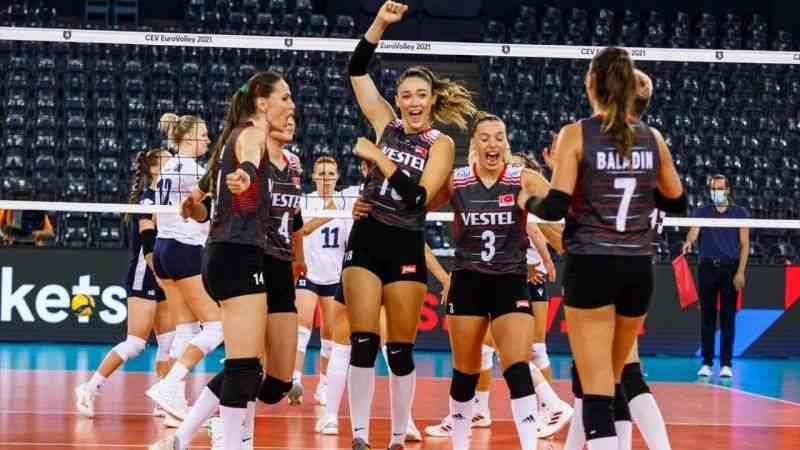 2021 Avrupa Kadınlar Voleybol Şampiyonası