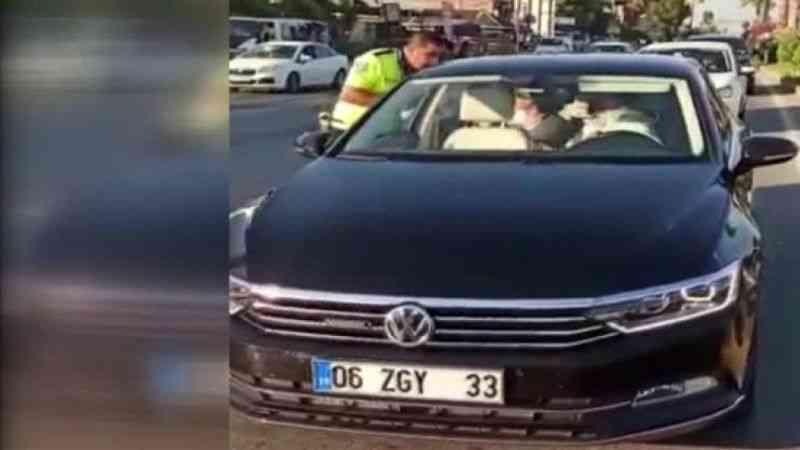 Polise hakaret ettiği görüntüleri ortaya çıkan AK Partili Yılmaz'dan ilk açıklama
