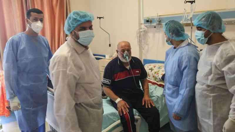 Abluka altındaki Gazze Şeridi'nde Kovid-19'un yeni dalgası endişe uyandırıyor