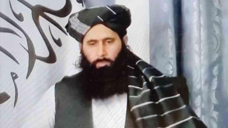"""Taliban sözcüsü: """"Tüm ülkelerden özellikle de Türkiye'den halkımıza ve ülkemize yardım etmelerini istiyoruz"""""""