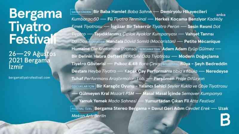 Bergama Tiyatro Festivali başlıyor