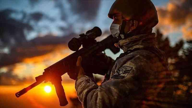 Barış Pınarı ve Fırat Kalkanı bölgesinde 9 PKK/YPG'li terörist etkisiz hale getirildi