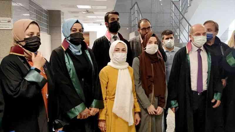 Başörtülü akademisyene saldırı davasının müştekileri ifade verdi
