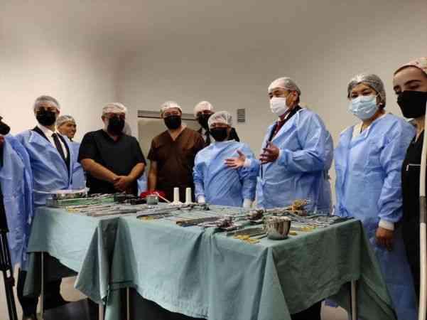 Türkiye'nin kurduğu modern Kırgız-Türk Dostluk Hastanesi hasta kabulüne başladı