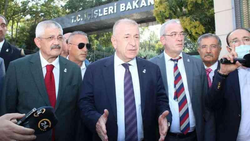 Ümit Özdağ, partisinin kuruluş dilekçesini İçişleri Bakanlığı'na verdi