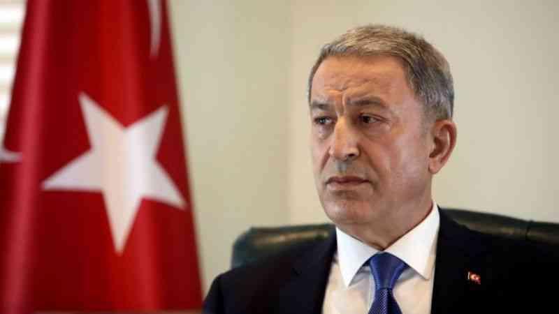 Bakan Akar'dan Türk askerinin Afganistan'dan tahliyesine ilişkin açıklama