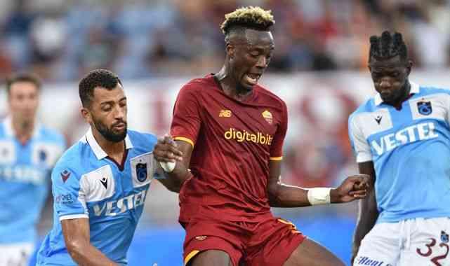 Trabzonspor, Roma'ya 3-0 yenilerek, Avrupa kupalarına veda etti