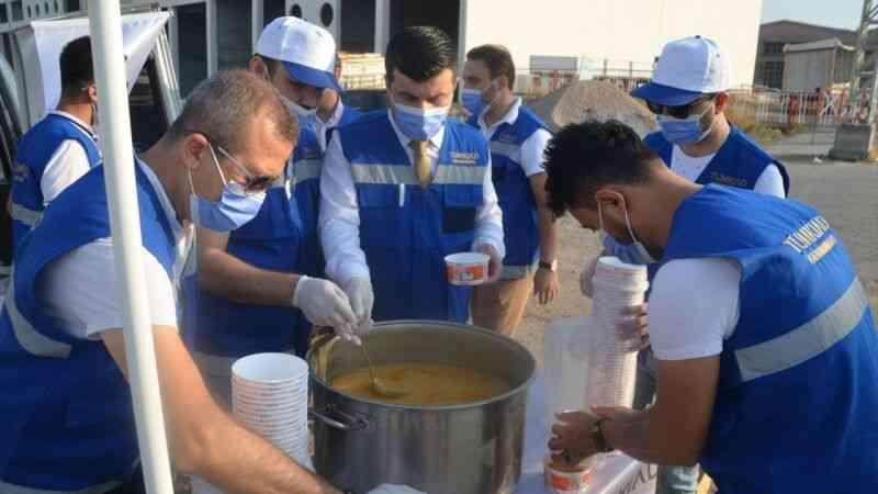 TÜMKİAD Kahramanmaraş'ta ahilik geleneğini yaşatıyor