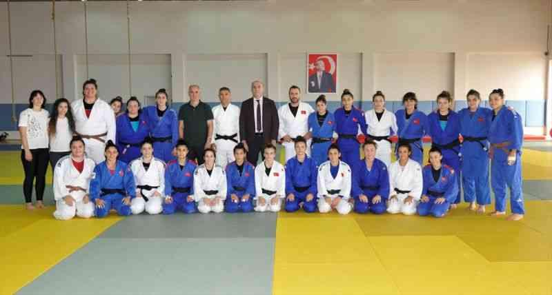 Gençler Avrupa Judo Şampiyonası'na katılacak milli takım, Trabzon'da kampa girdi