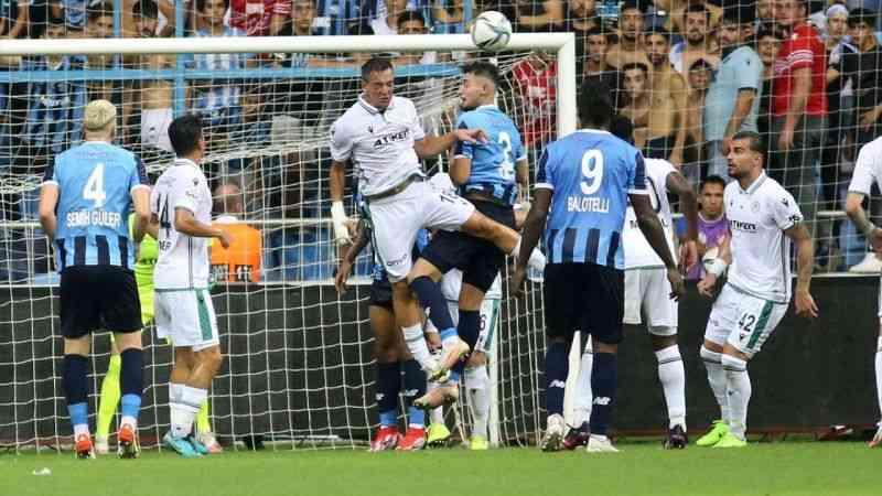 Adana Demirspor, Konyaspor ile 1-1 berabere kaldı