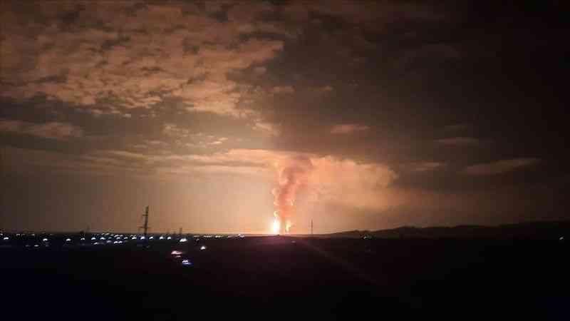 Kazakistan'da askeri mühimmat deposundaki patlamada 4 askeri personel hayatını kaybetti