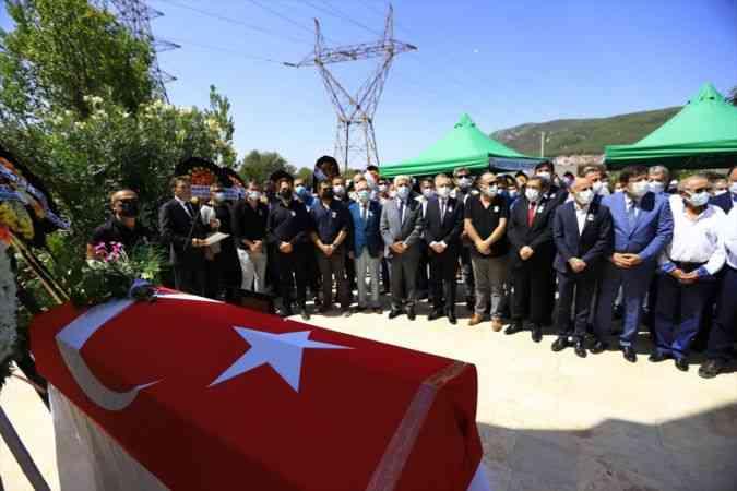 CHP 18. Dönem Muğla Milletvekili Tufan Doğu, son yolculuğuna uğurlandı