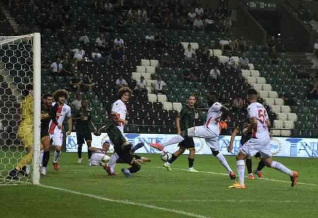 Kocaelispor, Samsunspor'u 1-0 yendi