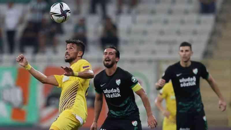Eyüpspor, Bursaspor'u 2-0 mağlup etti
