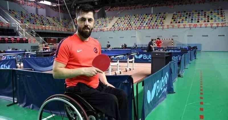 Masa tenisi tek erkeklerde Ali Öztürk, bronz madalya kazandı