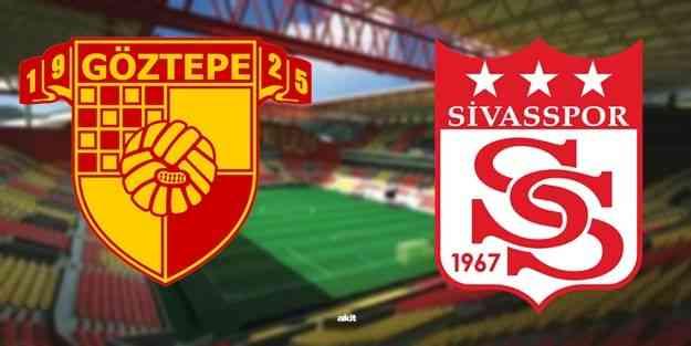 Göztepe, Süper Lig'de yarın Sivasspor'a konuk olacak