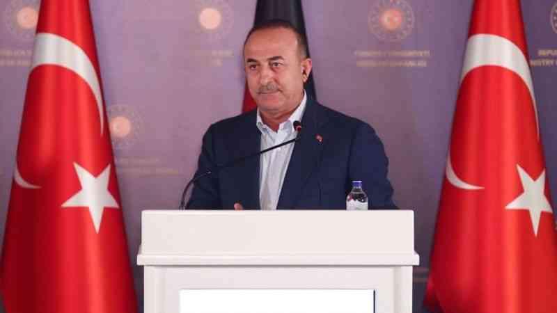 """Çavuşoğlu: ''Bizim artık ilave bir mülteci yükü kaldırmamız söz konusu değildir"""""""