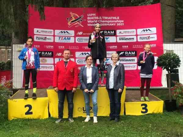 Genç milliler, Biathle Triathle Dünya Şampiyonası'nı 12 madalya ile tamamladı