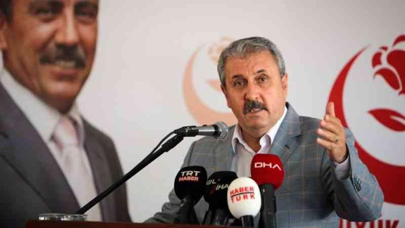 BBP Genel Başkanı Mustafa Destici, İstanbul Genişletilmiş İl Divan Toplantısında konuştu