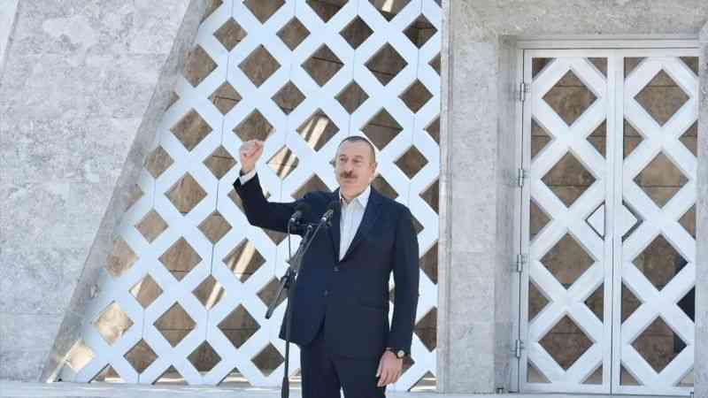 """Karabağ'ın sembol şehri Şuşa'da """"Vagif Şiir Festivali"""" düzenlendi"""