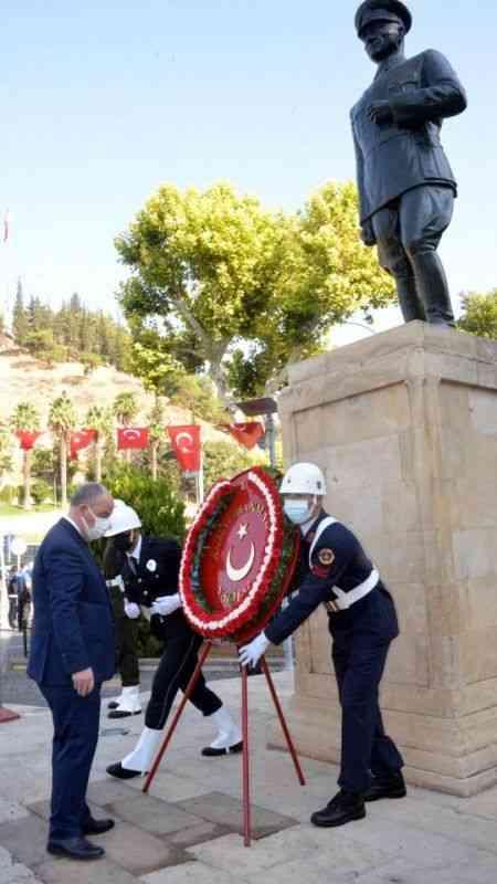 30 Ağustos Zafer Bayramı Kahramanmaraş'ta coşkuyla kutlandı