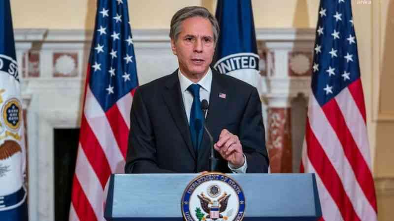 ABD Dışişleri Bakanı Blınken'den Afganistan açıklaması