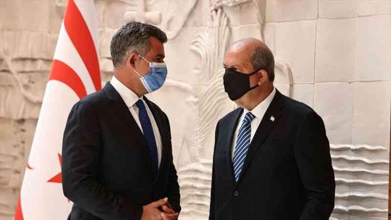 KKTC Cumhurbaşkanı Ersin Tatar, TBB'yi ziyaret etti
