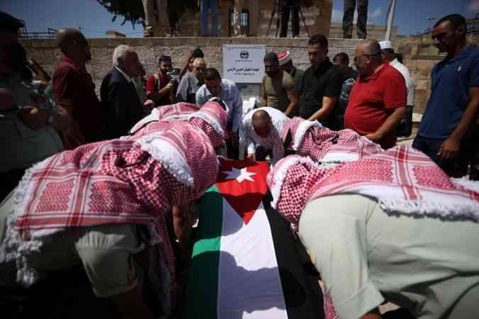 1967'deki savaş sırasında Kudüs'te ölen Ürdünlü askerin cenaze namazı Mescid-i Aksa'da kılındı