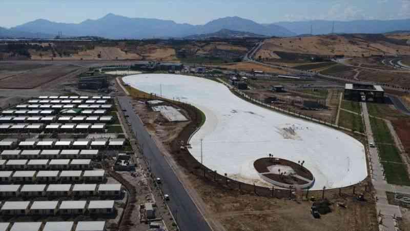 EXPO 2023 kapsamında yapımı tamamlanan Kristal Lagün Havuzu 45 günde dolacak