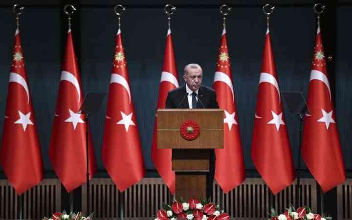Cumhurbaşkanı Erdoğan, Kabine Toplantısı'nın ardından millete seslendi