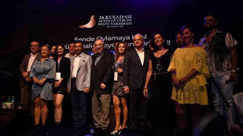 24. Altın Güvercin Beste Yarışması'na görkemli gala