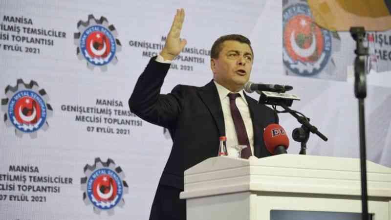 Türk Metal Sen: ''Bu ülkeyi yönetenlerin bize borcu var. artık hesap zamanı yaklaşıyor''