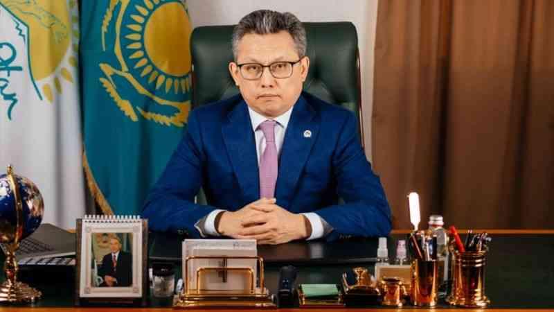 """Kazakistan Ticaret Bakanı Sultanov: """"Kazakistan ile Türkiye arasındaki ticaret hacmi 30 yılda 15 kat arttı"""""""