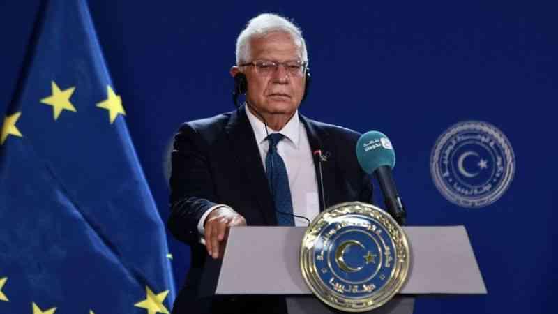 """AB Yüksek Temsilcisi Borrell: """"AB, güvenlik sektörü reformu için Libya'ya yardım etmeye hazır"""""""