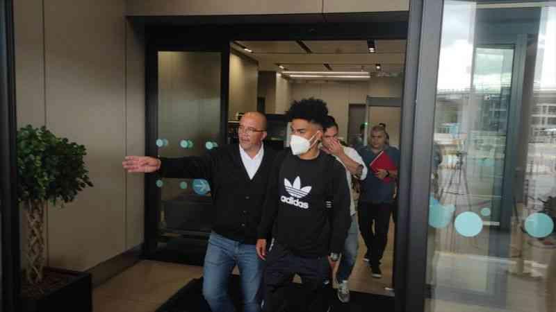Galatasaray'ın anlaştığı futbolcu Gustavo Assunçao İstanbul'a geldi