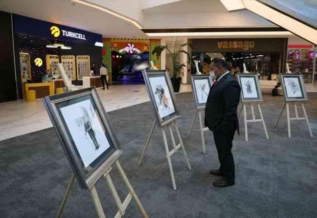 Guatemalalı sanatçı Valdiviezo'nun resim sergisi Ankara'da açıldı